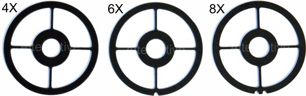 Axcel AV-25 - PARTS - Cross Ring Inserts