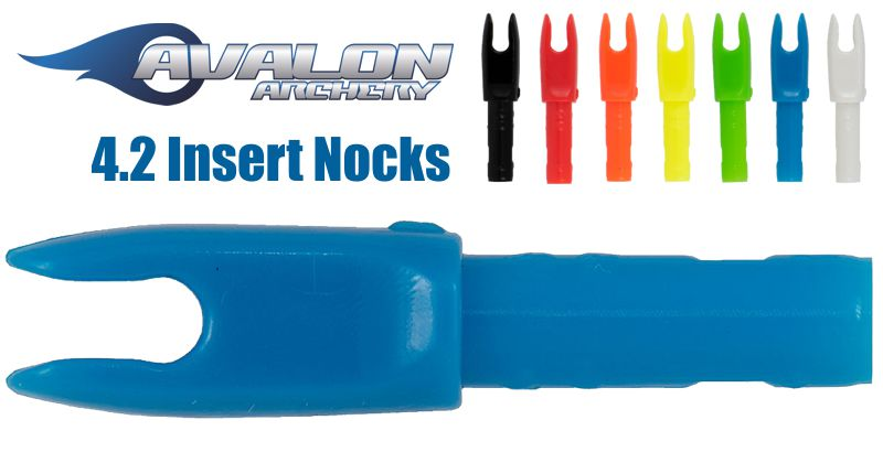 Avalon 4.2mm Insert Nock - SINGLE QUANTITY