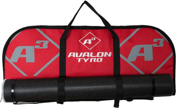 Avalon A3 Tyro Recurve Bag - Red