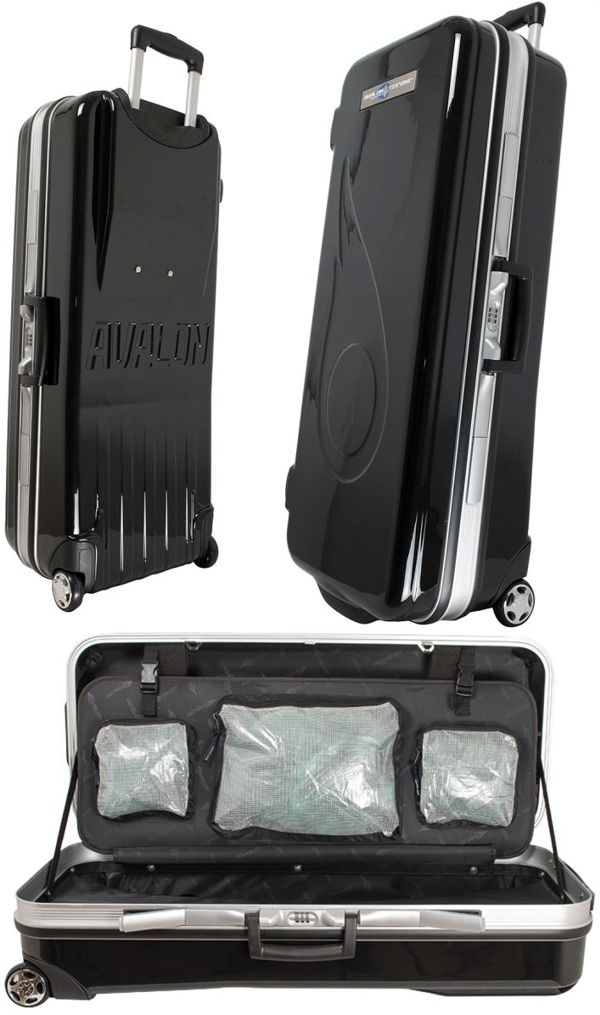 Avalon Tec One ABS Recurve Case with wheels