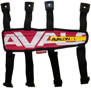 Avalon Arm Guard - Large - Red