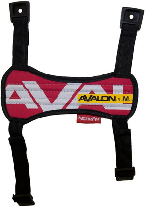 Avalon Arm Guard - Medium - Red