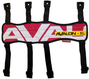 Avalon Arm Guard - XL - Red
