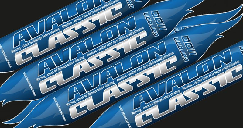 Avalon Classic shafts (doz) with Pins - SALE