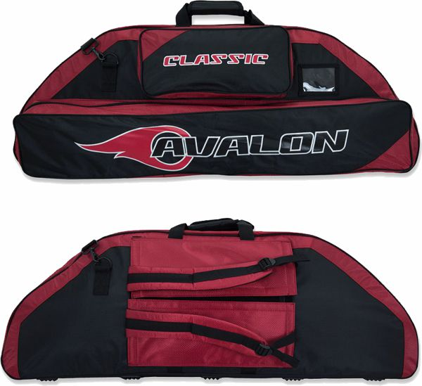 Avalon NEW Classic 106 Compound Bag - Dark Red
