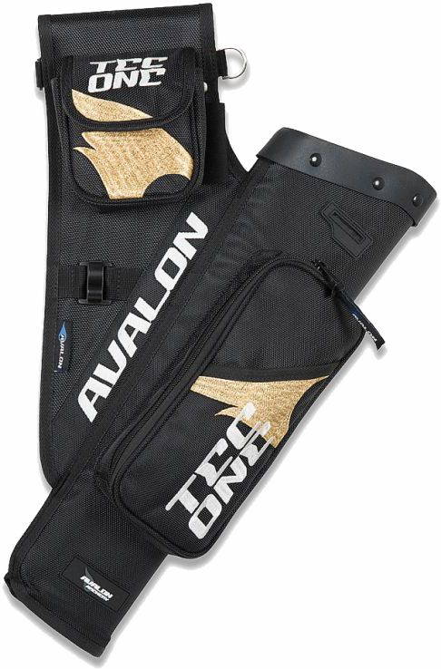 Avalon NEW Tec One Quiver - Black / Gold