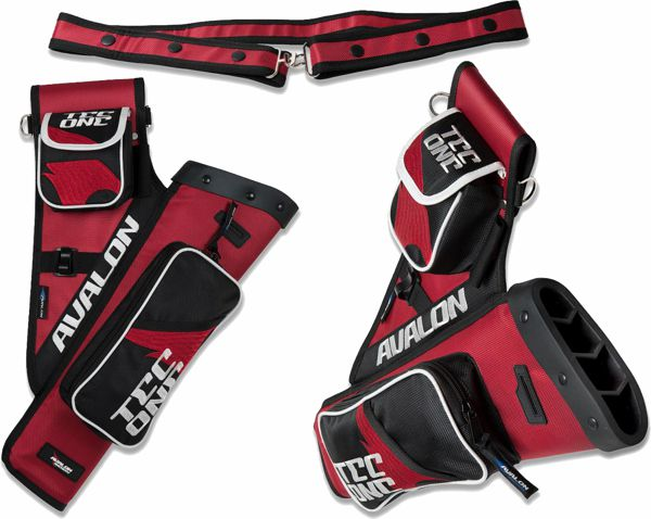Avalon NEW Tec One Quiver - Red