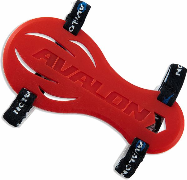 Avalon Smart Rubber Magnetic Arm Guard - Red
