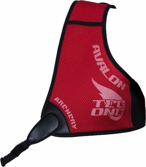 Avalon Tec One Chest Guard - Red