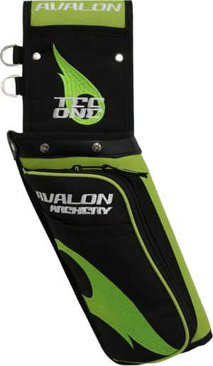 Avalon Tec One Field Quiver - Green
