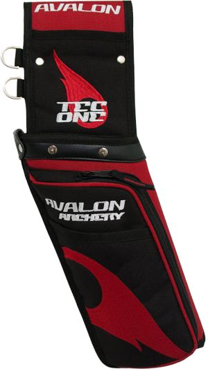 Avalon Tec One Field Quiver - Red