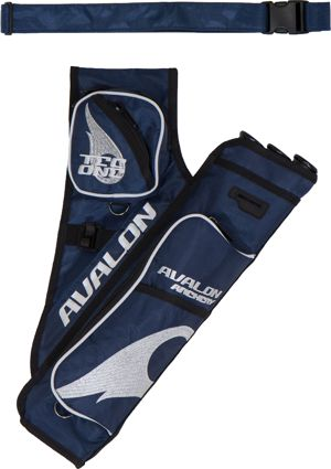 Avalon Tec One Quiver - Navy/Silver
