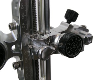 Axcel AX3000 Compound Sight with DAMPER - silver