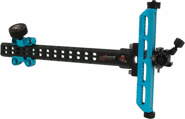 Axcel Achieve Carbon RXL Recurve Sight - Teal