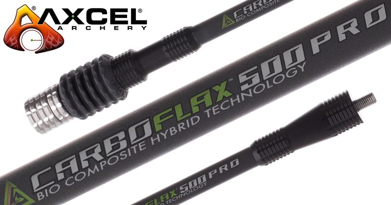Axcel Carboflax 500 Pro Long Rod - 33in