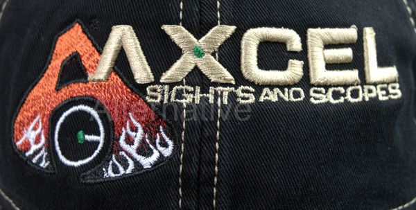 Axcel EZ Twill Cap - quality embroidery stitching