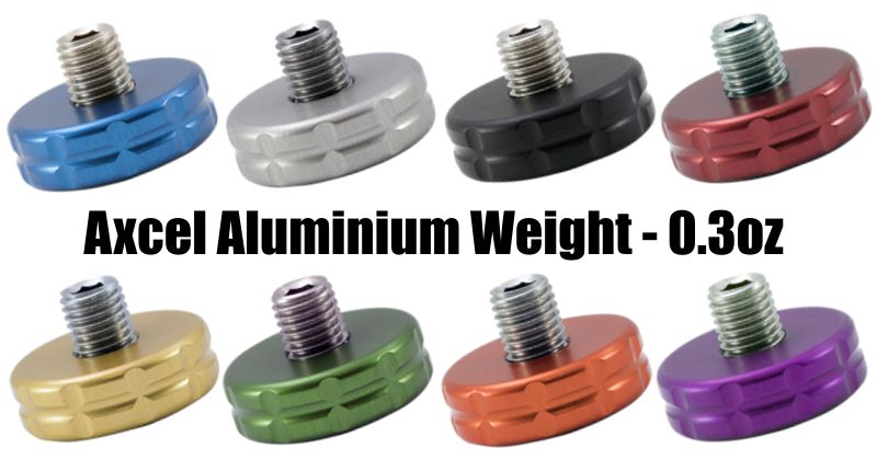 Axcel Aluminium Weight - 1in - 0.3oz