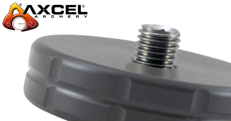 Axcel Stainless Steel Weight - 1.75in - 4oz - Black