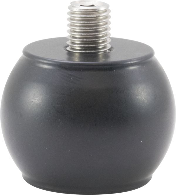Axcel Stainless Steel Weight - 1.25in BALL SHAPE - 4oz - Black