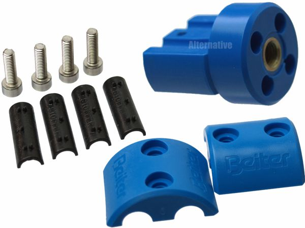 Beiter Adapter (IN) for Centralizer - complete - Blue without pins