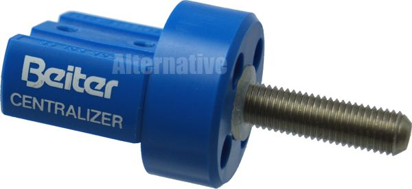 Beiter Adapter (OUT) for Centralizer - single - Blue 28mm