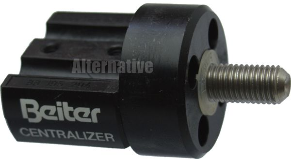 Beiter Adapter (OUT) for Centralizer - single - Black 16mm