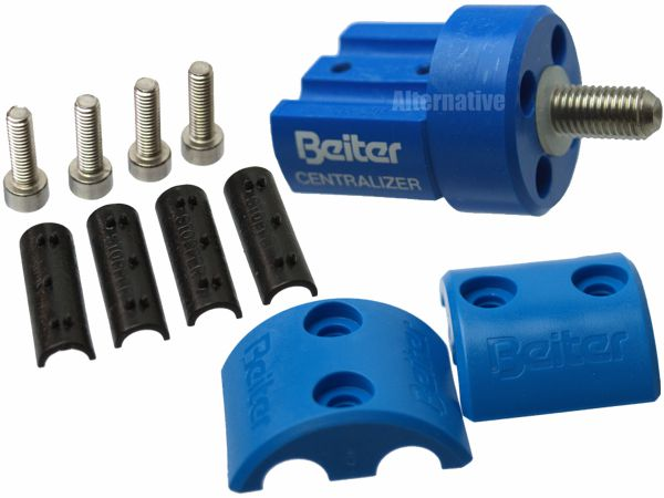 Beiter Adapter (OUT) for Centralizer - complete - Blue 16mm