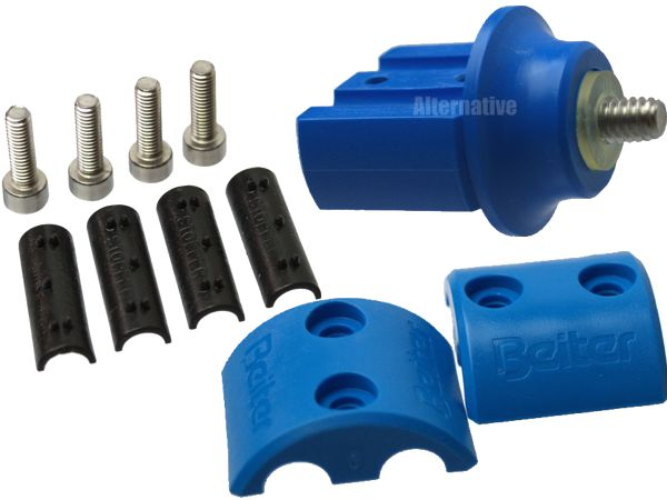 Beiter Weight Adapter (G) for Centralizer - complete - Blue