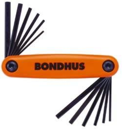 Bondhus GorillaGrip 12550 - Imperial & Metric