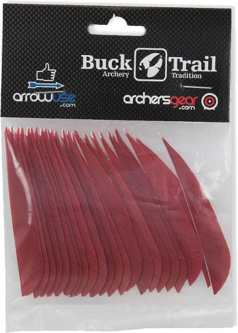 Buck Trail Feathers - 3in Round