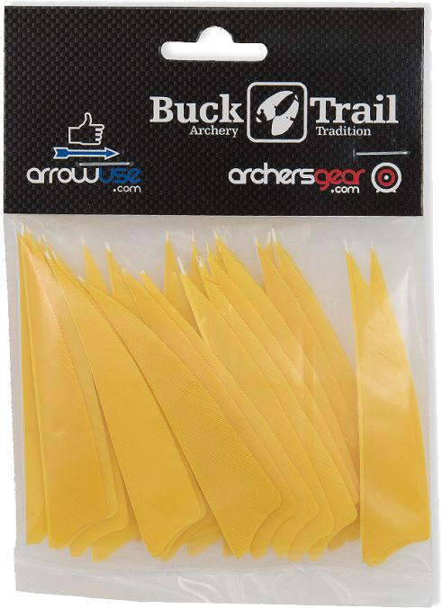 Buck Trail Feathers - 3in Shield