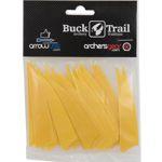 Buck Trail Feathers - 3in Shield (pk/24)