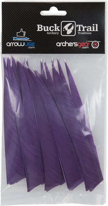 Buck Trail Feathers - 5in Shield