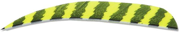 Buck Trail Feather Barred - Neon Yellow