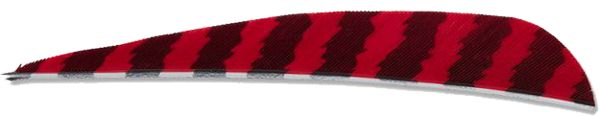 Buck Trail Feather Barred - Red