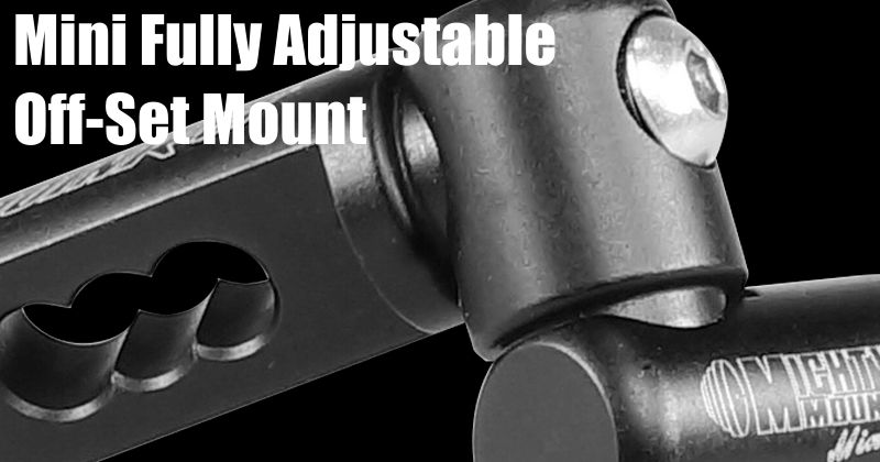 Doinker Mighty Mount - Mini Fully Adjustable Off-Set Mount (FAOSMM) - SALE
