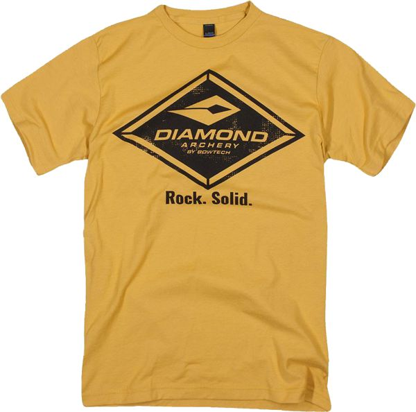 Diamond T-Shirt - Vintage - Yellow