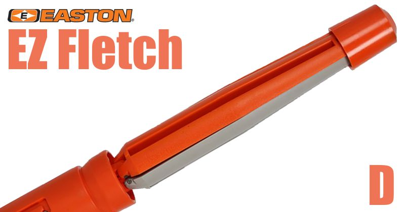 Easton EZ Fletch - D - Large Diameter 5in Straight Offset Tool