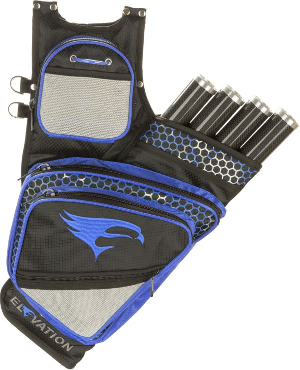 Elevation Adrenalin Carbon 4 Tube Quiver - Blue