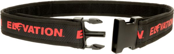 Elevation Pro Shooter Belt - Black/Red