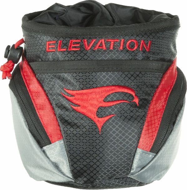 Elevation Core Pouch - Black/Red