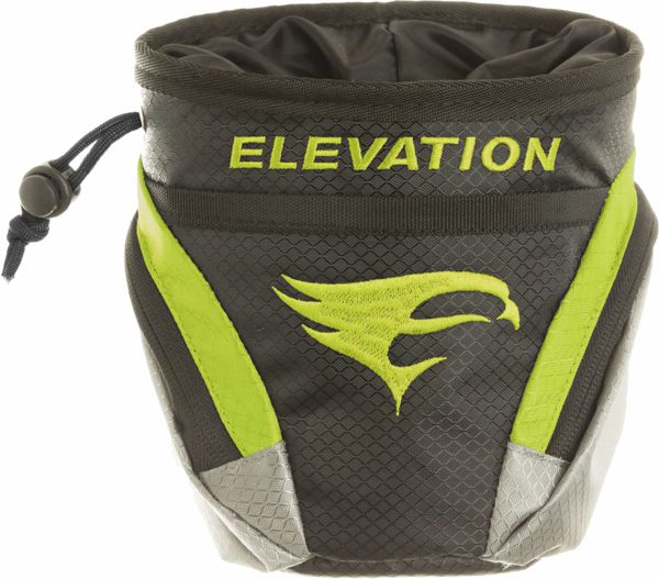 Elevation Core Pouch - Black / Flo Green