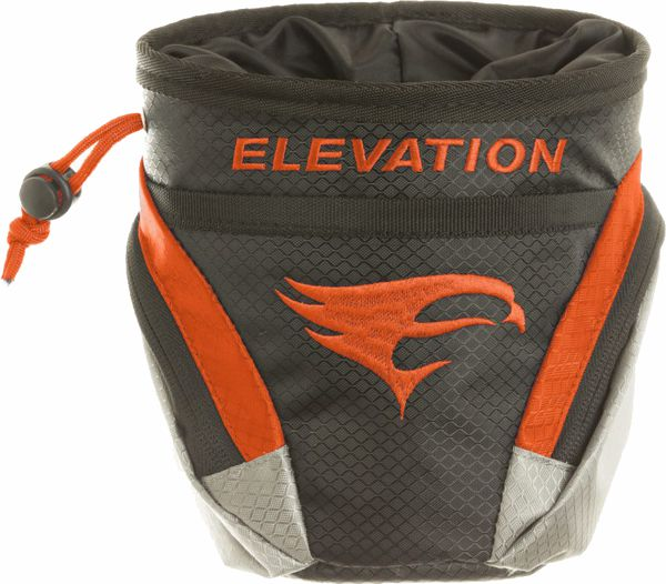 Elevation Core Pouch - Black / Orange