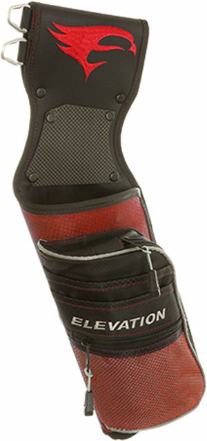 Elevation Nerve Quiver - Black/Red