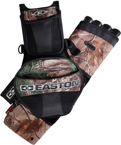 Easton Flipside 4-tube Quiver - Realtree Xtra