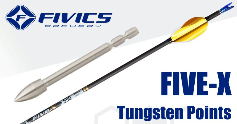 Fivics Five-X Tungsten points (doz)