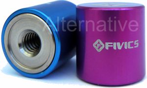 Fivics Aluminium Coloured Weights - (WT-AL3)