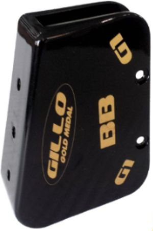 Gillo Barebow Cover - Black Brass
