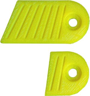 Gillo Clicker Plate Kit - 3D Printed - Flu Yellow