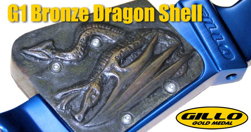 Gillo G1 Bronze Dragon Shell - (G01-BW-02-DG)
